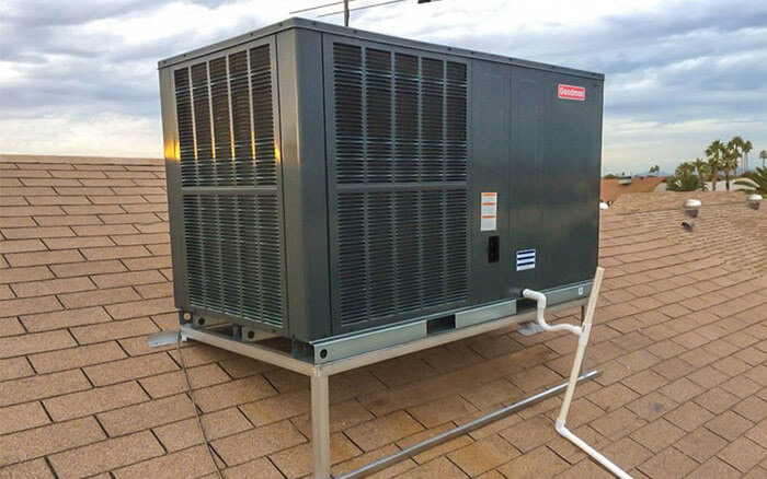 how to clean rooftop ac units