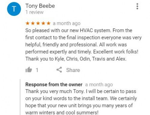 What Happy Clients Say About Our Air Conditioning Repair Services