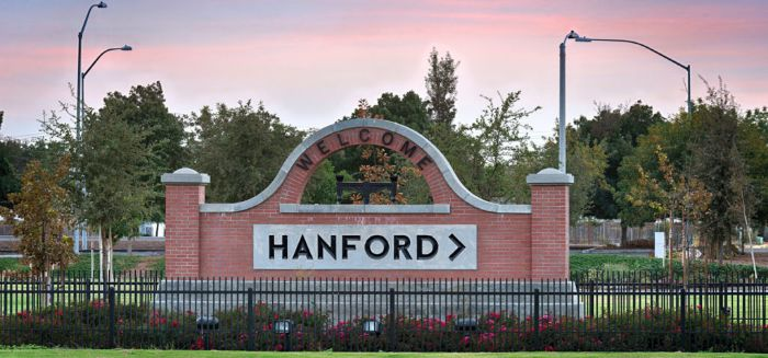 hanford california
